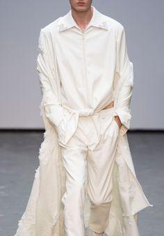 Xander Zhou F/W 2015 Menswear London Fashion Week LCM