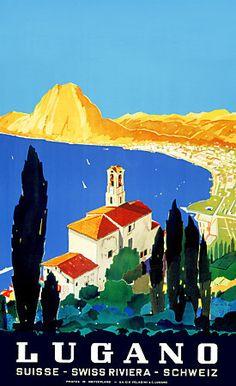 Lugano Swiss Riviera http://vintagevenus.com.au/products/vintage_poster_print-tv936