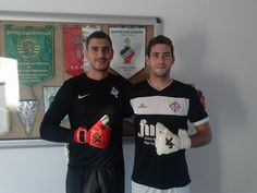 Zé Miguel Garcia, goalkeeper of the ad nogueirense also already surrendered to the just4keepers with their j4k Anarchy Guardian. Good luck Joe ;)