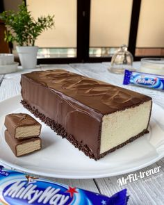 Candy Recipes, Sweet Recipes, Cookie Recipes, Dessert Recipes, Healthy Bars, Healthy Sweets, Raw Cake, Good Food, Yummy Food