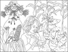 autumn coloring pages autumn coloring page porumb vulpe gaini