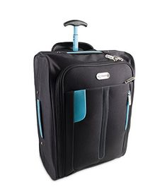 Hand Luggage Cabin Bag Trolley with Wheels Flight Bags Suit Case for Easyjet Ryanair British Airways Virgin FlyBe Jet 2 and Many others Airlines or Travel This is one of the top selling products online in Luggage category in UK. Click below to see its Availability and Price in YOUR country.