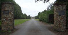 entrance to Denne Park, Horsham, Sussex England