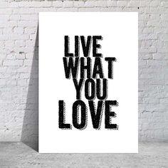 Viva o que você ama
