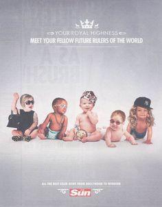 Royal Baby : même les publicitaires en sont fous [40 publicités hyper créatives] #royalbaby - ConseilsMarketing.com