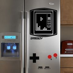 Gameboy Refrigerator decal