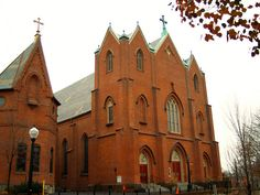 Historic St. Mary's - Lancaster Pennsylvania,  was founded in 1741 and is the fourth oldest Catholic congregation in the original thirteen colonies. The current church dates to 1852 and was re-built in 1868