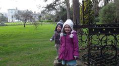 At the wishing well in the Italian Garden at Powerscourt in County Wicklow, Ireland www.powerscourt.ie
