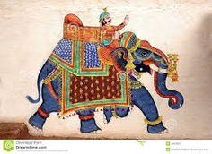 Resultado de imagen de peinture elephants