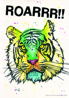 Poster//Tiger | MAUSBIRD