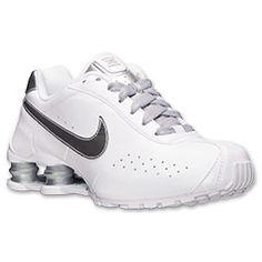 Women's Nike Shox Classic II SI Running Shoes| FinishLine.com | White/Metallic Silver