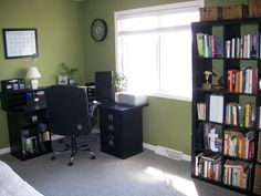 Bedroom With Office Decorating Ideas Part 83