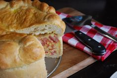 The BEST recipe for Pizzagaina (Italian Easter Ham Pie). With step-by-step photos and detailed instructions.