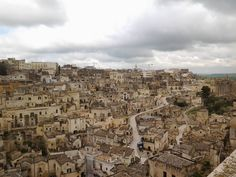 "Art City Matera in Southern Italy won the Title ""European Capital of Culture 2019"