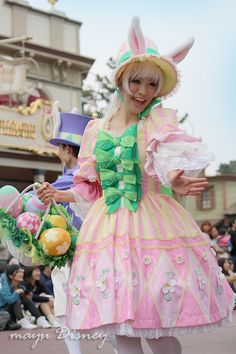 ヒピブログIMG_6296 Fancy Costumes, Disney Costumes, Tokyo Disney Sea, Disney Land, Theme Park Outfits, Festival Of Fantasy Parade, Recycled Dress, Female Dancers, Princesa Disney