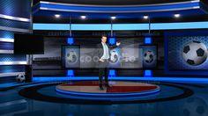 sport virtual set studio tv 7