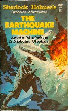 The Battered Tin: The Earthquake Machine Sherlock Books, Scottish Authors, Arthur Conan Doyle, Sir Arthur, Crime Fiction, Fiction Novels, Adventures Of Sherlock Holmes, Greatest Adventure, Adventure Stories