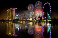 A list of places to celebrate New Years Eve in Singapore. All travelers.