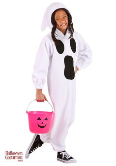 Let your kids get kooky this Halloween in this Kids Ghastly Ghost Costume. This white onesie features black ghost mouth and eyes. This is a comfy way to bring the spooky this Halloween. Ghost Costume Kids, Ghost Costumes, Scary Halloween Costumes, Halloween Night, Happy Halloween, Polar Fleece, White Fabrics, Onesies, Comfy