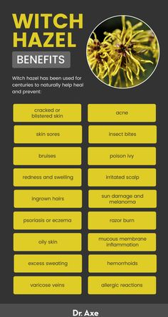 Witch Hazel Uses, Benefits and Potential Side Effects If you're looking for clearing, healthier skin, look no further than witch hazel. But witch hazel benefits aren't just skin deep! Natural Health Remedies, Natural Cures, Herbal Remedies, Natural Healing, Psoriasis Remedies, Holistic Remedies, Natural Treatments, Holistic Healing, Natural Oil