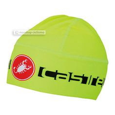 Hats Caps and Headbands 158994: Castelli Viva Thermo Skully Thermal Winter Skull Cap : Fluo Yellow -> BUY IT NOW ONLY: $34.99 on eBay!