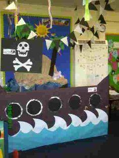 Pirate writing area