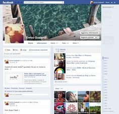 Stamattina Facebook ci ha accolto con questo nuovo layout del Profilo: cosa ne pensate?
