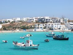 On the islands of Paros, Antiparos, Naxos, and Pano Koufonisi, you'll find whitewashed hillside towns, hidden swimming caves, and pristine beaches. Here's a taste of Greece's unspoiled, lesser-known isles.