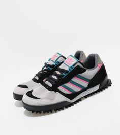 Discover the latest Adidas Originals Marathon TR collection at size? Mens Fashion Online, Men's Fashion, Adidas Trail, Marathons, Running Sneakers, Spy, Adidas Originals, Trainers, Adidas Sneakers