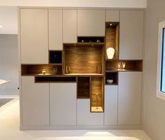 Bedroom Closet Design, Home Cinemas, Wine Rack, Bungalow, Wall Lights, Table Haute, Shelves, Architecture, Cabinet