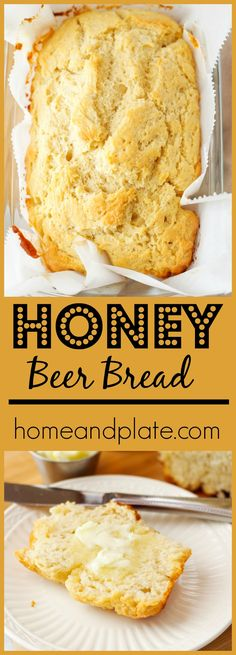 Jan 23 Honey Beer Bread is part of Soft Homemade bread - There is nothing better than sinking your teeth into a slice of soft homemade beer bread that tastes like grapefruit and honey Honey Beer Bread, Homemade Beer, Homemade Breads, Cooking With Beer, Bread Machine Recipes, Beer Recipes, Honey Recipes, Fresh Bread, How To Make Bread