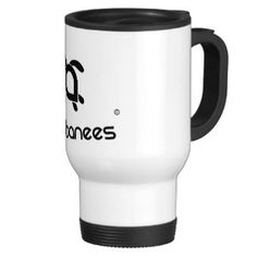 Babanees logo Stainless Steel 444ml Thermocup 15 Oz Stainless Steel Travel Mug