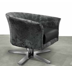 Oyster chair by GAMMA. Occasional chairs. #ItalianLeather.