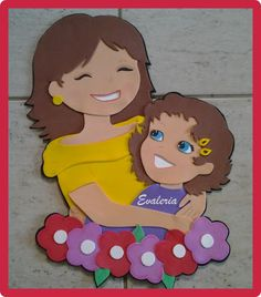 Mothers Day Crafts For Kids, Mothers Day Cards, Foam Crafts, Diy Crafts, Mom Day, Nice To Meet, Princess Peach, Decoration, Activities