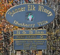 Banner Elk Winery in Banner Elk, NC! Visit the High Country! #nchighcountry