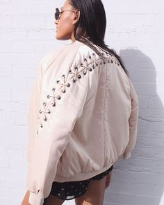 Arlo Bomber detail is    For girls who get it. #fashionbackroom . . . . . . #style #fashion #onlineshopping #fashionblogger #ootd #expressdelivery #sydneyfashionblogger #melbournefashionblogger #modellife #luxe #outfitgoals