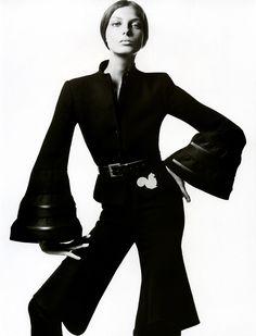 nice TBT| Daria Werbowy por David Sims para Vogue Paris Agosto 2004  [Editorial]
