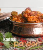 Kadhai Paneer ~ A Lip-Smacking Vegetarian Stir-fry from North India - Weave a Thousand Flavors