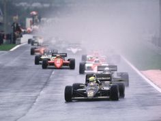 On April 21, 1985, there were 32 exact 32 years ago, Ayrton Senna won his first F1 victory at the Portugal GP of 1985