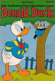 Walt Disney - Heft 20 - Tree - Birds - Nest Pato Donald Y Daisy, Donald Duck, Disney Cartoon Characters, Disney Cartoons, Disney Duck, Disney Art, New Ducktales, King Koopa, Looney Tunes Bugs Bunny