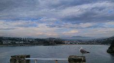 Bochorno nubes y claros en Donostia