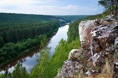 Река Уфа. Челябинская область.