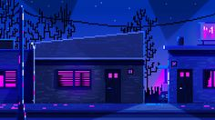 Late night motel