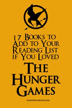 Great list of books perfect for Hunger Games lovers and why each would appeal to the Hunger Games fans - Rae Gun Ramblings
