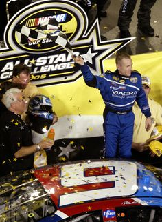 Mark Martin's win in the All Star race in the 6 car