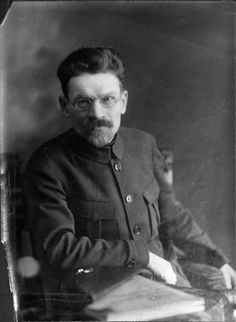 Mikhail Kalinin, communist leader and statesman who was the formal head of the Soviet state from 1919 until 1946, pictured here c. 1920s
