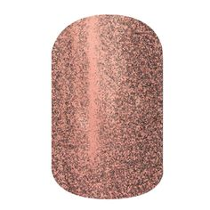 Rose Gold Sparkle  nail wraps by Jamberry Nails