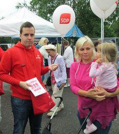 Ari Wigelius - SDP Pirkanmaan jäätelökesäkampanjan merkeissä