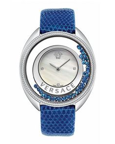 Versace Destiny Mother-of-Pearl Watch