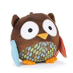 KINGMASR Cute Animal Ball shaped Stuffed Soft Toy Bell Rattle Gift Baby Kids  Owl -- Read more  at the image link.Note:It is affiliate link to Amazon.